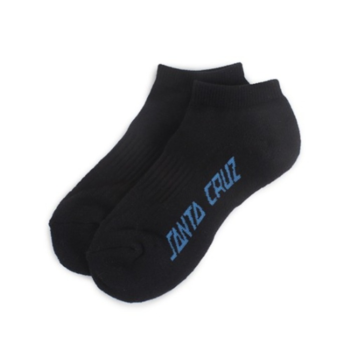 Mens Strip Sneakers Socks - Black